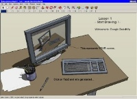 Рабочий стол SketchUp