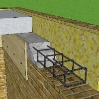Изначально ровный потолок