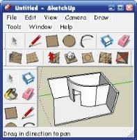 SketchUp. Intersect.