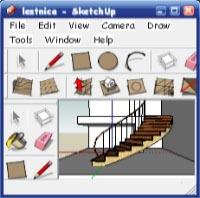 Sketchup. Лестница - часть четвёртая.